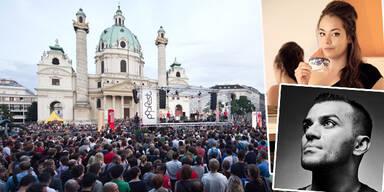 Popfest am Karlsplatz; Rapper Nazar; Yasmo