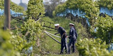 Flugzeugabsturz in Podersdorf: Ein Toter
