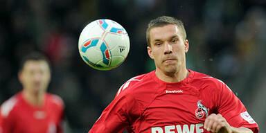 """Podolski jetzt fix ein """"Gunner"""""""