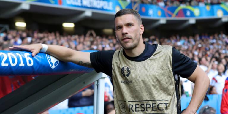 'Kanaken'-Sprüche: Das sagt Podolski