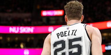 Pöltl mit Spurs in NBA-Play-offs wieder voran