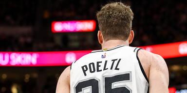 Pöltl feiert 'verrückten Sieg' mit Spurs