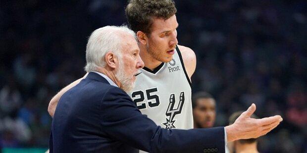 Pöltl schafft neue NBA-Bestleistung