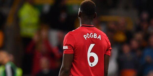 Paul Pogba rassistisch beleidigt
