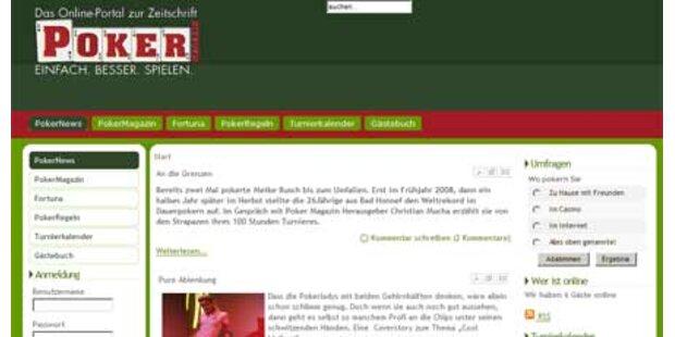 Pokermagazin jetzt tagesaktuell online