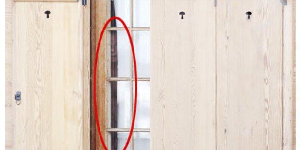 Hier zeigt sich Polanski in seinem Haus