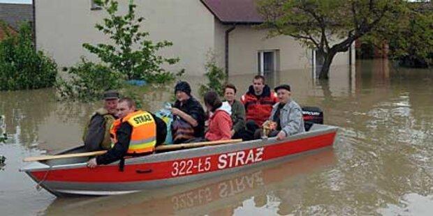 9 Tote in Polen nach Überschwemmungen