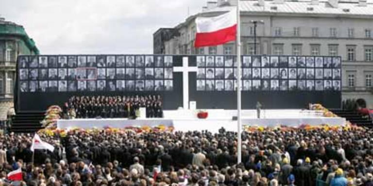 Ganz Polen trauert um Lech Kaczynski