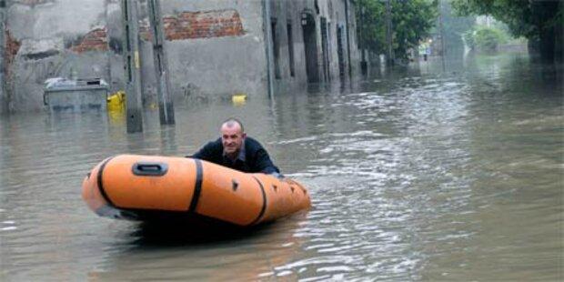 Hochwasser erreicht Warschau