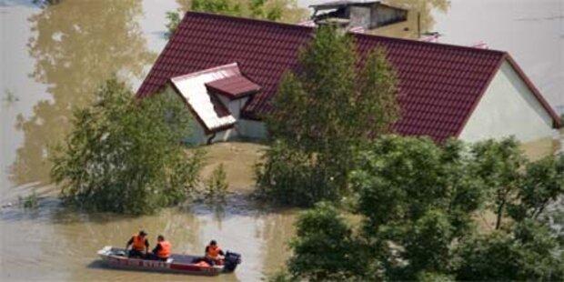 Hochwasser verschont diesmal Warschau