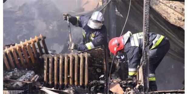 22 Obdachlose in Heim verbrannt