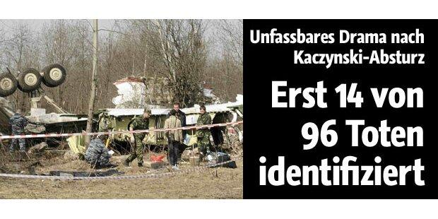 Erst 14 Tote nach Absturz identifiziert