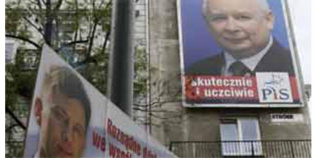 Parlamentswahl in Polen begonnen