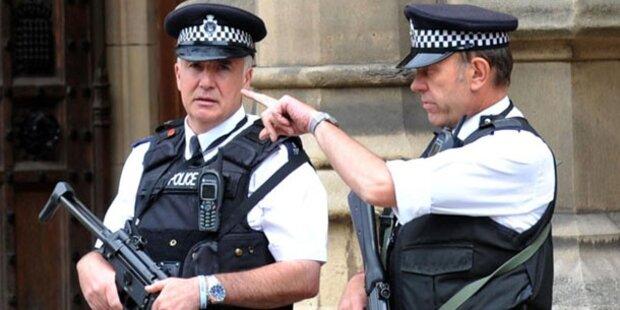Großbritannien hebt Terrorwarnstufe an