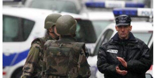 Erster Bomben-Verdächtiger in Paris festgenommen