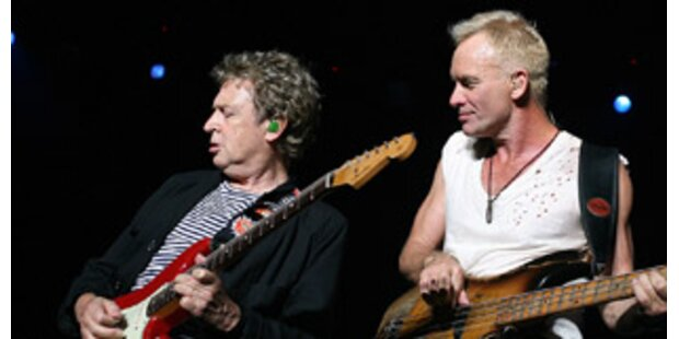 Gitarrist Andy Summers will neues Police-Album