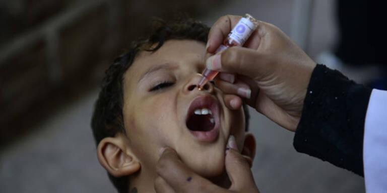Ärzte warnen vor steigender Polio-Gefahr