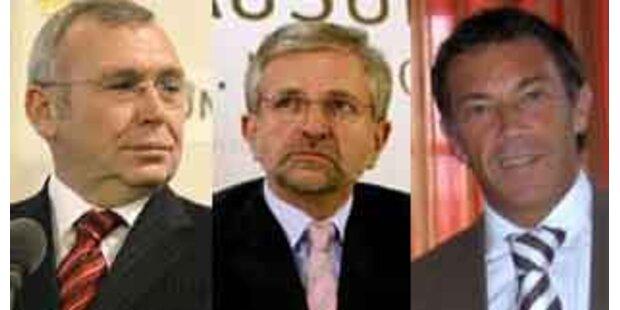 Gusenbauer meist genannter Politiker 2007