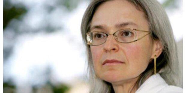 30-jähriger Tschetschene tötete Politkowskaja