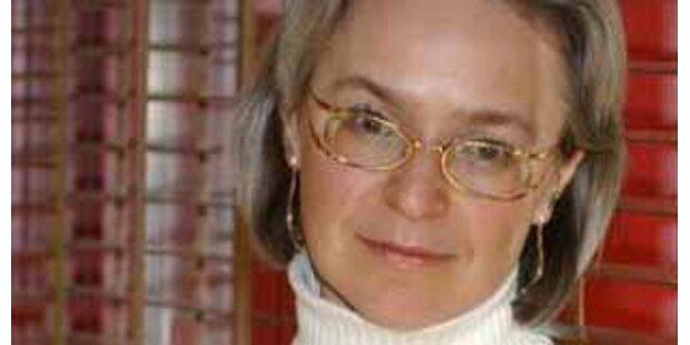 Russland übergab Name des Mörders von Politowskaja