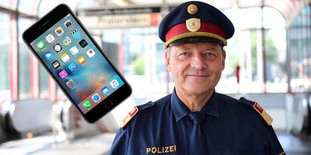 Polizisten bekommen Tausende iPhones