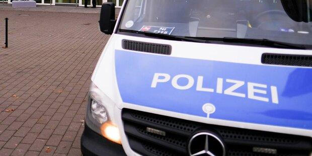 Salzburg: Bus kracht gegen Deutsche Bundespolizei