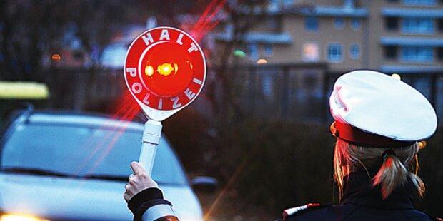 Polizist mit 2 Promille erwischt