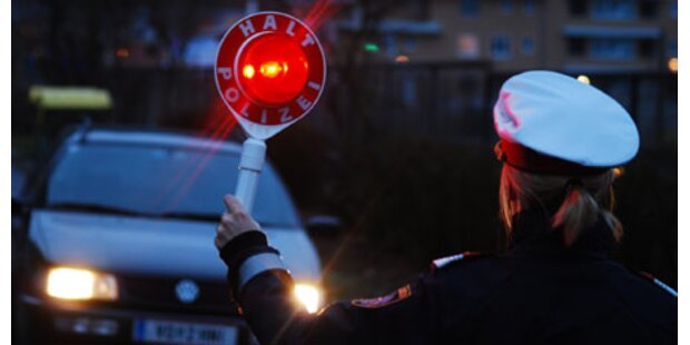 Lkw-Fahrer mit 2,06 Promille gestoppt