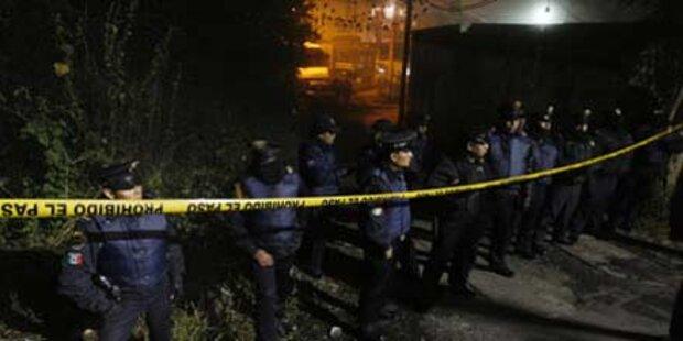 14 Menschen im Drogenkrieg getötet