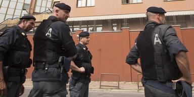 Polizei Rom Italien