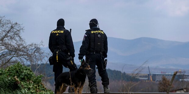Prag: 300 Polizisten auf Balkanroute