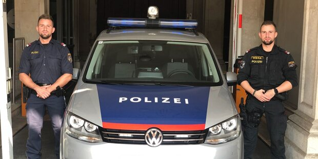 Polizisten retten bewusstlosem Lenker das Leben
