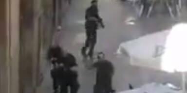 Polizei stürmt Gebäude mit Geiseln