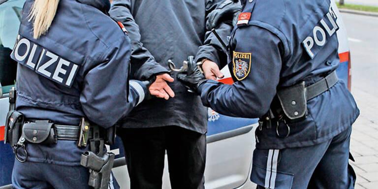 Führerscheinloser (27) flüchtete vor Wiener Polizei: