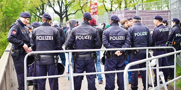 Bregenz: Krawalle bei Anti-Gaza-Demo