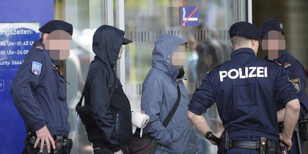Drogendealer verletzte Polizisten