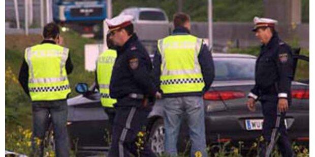 Falsche Cops waren unbewaffnet