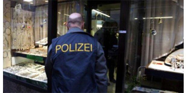 Juwelierin in Graz bei Überfall misshandelt