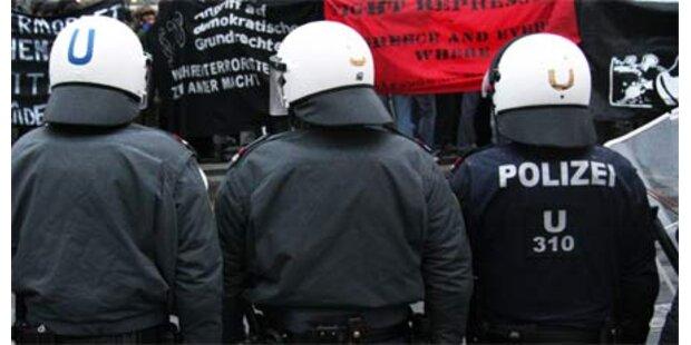 Polizei fürchtet 30 Mio. Kürzung