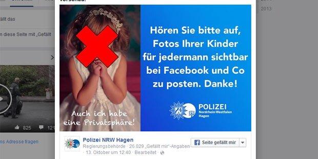 Facebook: Polizei-Aufruf wird Mega-Hit