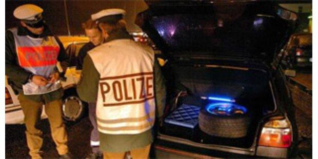 Alkolenker demolierte Autos in Salzburg