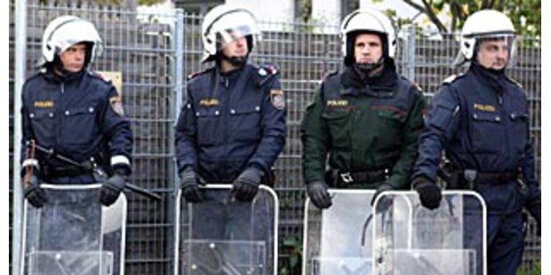 Fußball-Chaoten randalierten in Wien