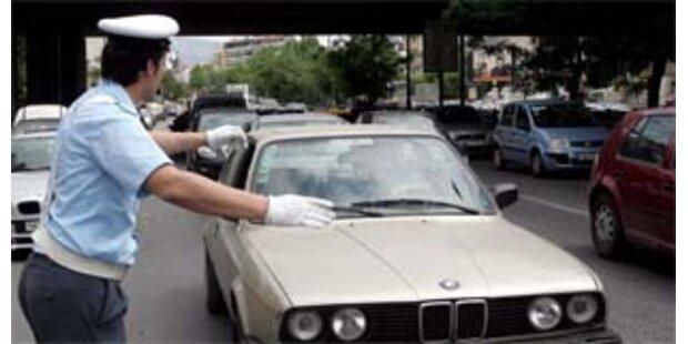 Neun Euro Bußgeld für Fußgänger auf Zypern