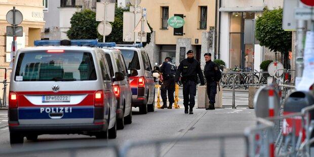 EU-Vorsitz: Mann mit Gewehr überwältigt