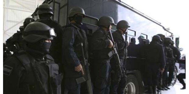 Polizei findet vier abgetrennte Köpfe
