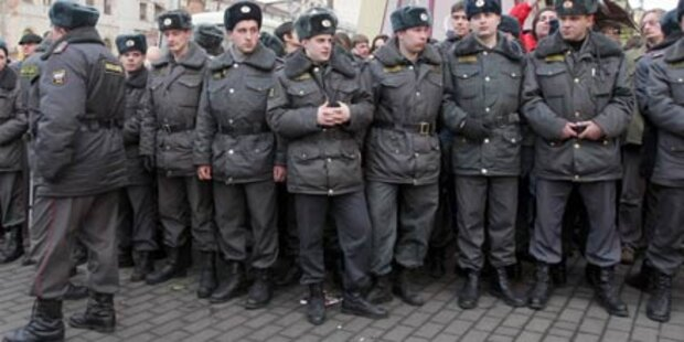 Bombenalarm in St. Petersburg