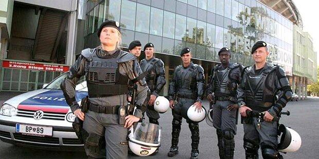 Moderne Ausrüstung für Wiener Polizei