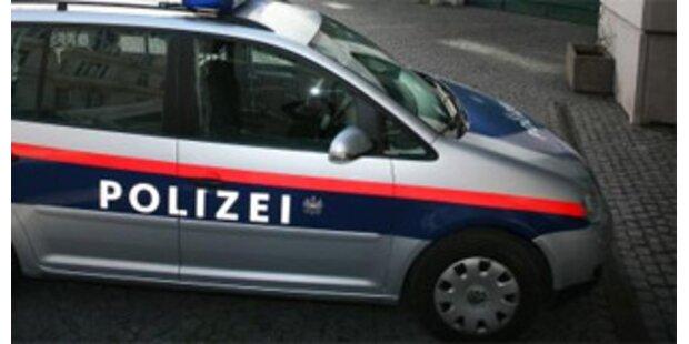 Betrunkener Autodieb drängt Polizeiauto von Straße