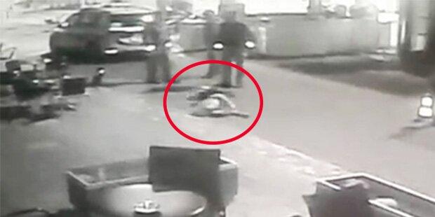 Prügel-Video: Freispruch für Polizeibeamte