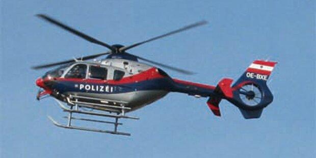 Polizei sucht Unfall-Lenker mit Heli